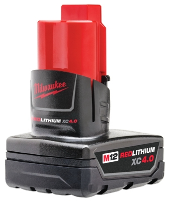 M12 Red Lithium XC 4.0 Extended Capacity Battery Pack, 12-Volt