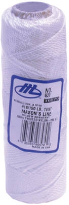 250-Ft. White Braided Nylon Mason Line