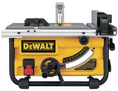 Table Saw, 10-Inch, 15A