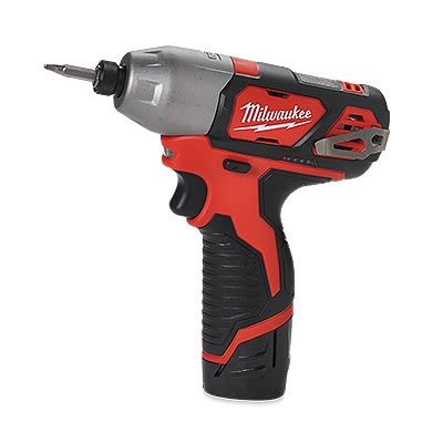 M12 Impact Driver Kit, .25-In. Hex, M12 Lithium-Ion Charger