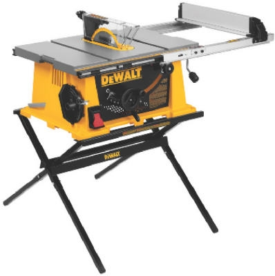 Heavy-Duty Jobsite Table Saw, 10-In.