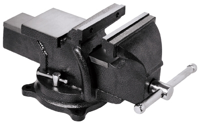 Workshop Bench Vise, Heavy-Duty, 6-In.