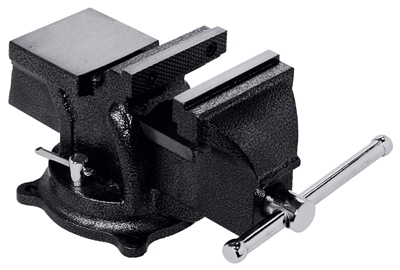 Workshop Bench Vise, Heavy-Duty, 4-In.