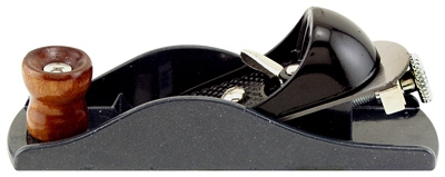 Block Plane, Adjustable, Cast Iron, 7-In.