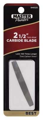 2-1/2-In. 2-Edge Carbide Replacement Blade
