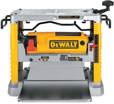 Heavy-Duty Portable Planer With 3 Knives, 12-1/2 Inch