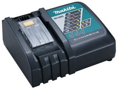 Lithium-Ion Battery Charger, 18-Volts