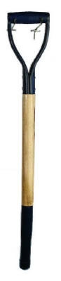Spading Fork Handle, Tubular D-Grip, Ash, 30-In.