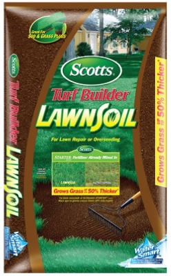 Turf Builder Lawn Soil, 1-Cu Ft.