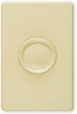 Rotary 600-Watt, Single-Pole Dimmer with 3 Knobs
