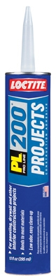 PL 200 Construction Adhesive, 10-oz. Cartridge