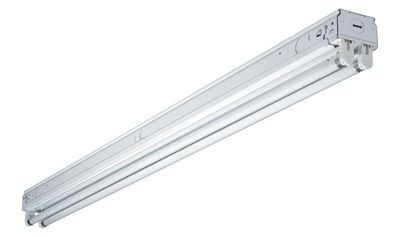 Fluorescent Strip Light Fixture, 2-Lamp, 4-Ft.