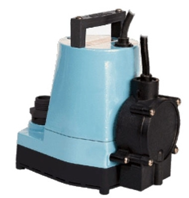 Water Pump, Submersible With Piggyback Diaphragm Switch, Oil-Filled, 1200-GPH