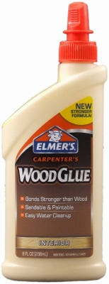 Carpenters Wood Glue, Interior, 8-oz.