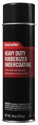 Rubberized Undercoating, 18-oz.