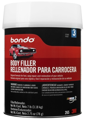 Auto Body Filler, 1-Gal.