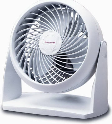 White Personal Table Fan