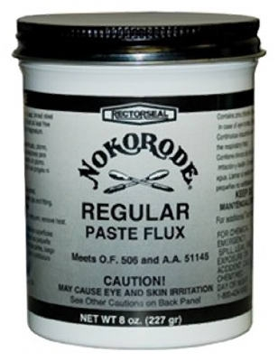 Nokorode Regular Paste Flux, 8-oz.