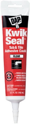 Kwik Seal Tub/Tile Adhesive Caulk, 5.5-oz.