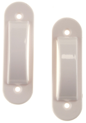 2-Pack White Switch Guard
