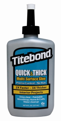 Quick & Thick Glue, 8-oz.