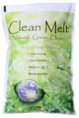 Ice Melt With Green Color Indicator, 50-Lb.
