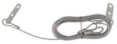 2-Pack  8-Foot Galvanized Safety Cable