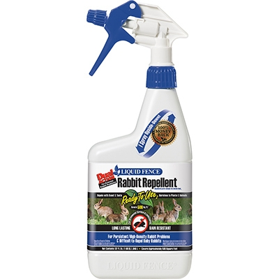 Dual Action Rabbit Repellent, Ready-to-Use, Qt.