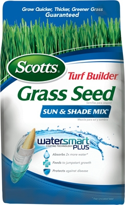 Turf Builder Sun & Shade Grass Seed, 20-Lbs.