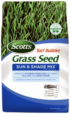 Turf Builder Sun & Shade Seed, 3-Lbs., Covers 1200 Sq. Ft.