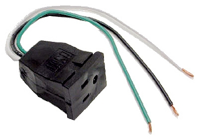 Evaporative Cooler Lead Pump Receptacle, 10-In.