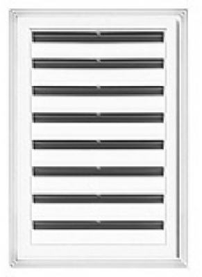 18 x 24-Inch Rectangle Gable Vent - White