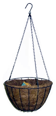 12-Inch Green Growers Hanging Basket