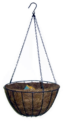 14-In. Green Growers Hanging Basket