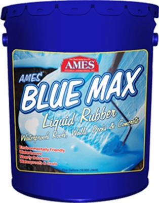 Blue Max Liquid Rubber Waterproofing Coating, Regular Grade, 5-Gals.