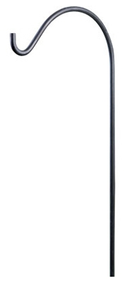 Shepherds Hook, Black, 84-In.