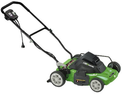 Electric Lawn Mower, Corded, 14-In.