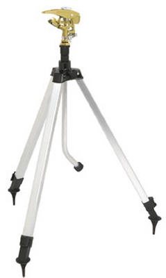 Tripod Sprinkler, Metal, Covers 5,800-Sq. Ft.