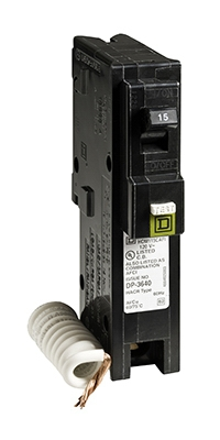 Homeline 15-Amp Single-Pole Arc Fault Circuit Breaker