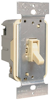 600-Watt Ivory Incandescent Toggle Dimmer