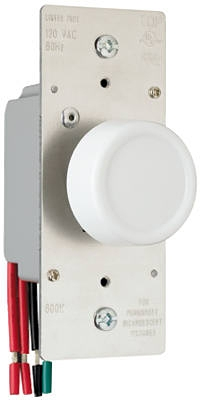 600-Watt Light Almond 3-Way Maximum Rotary Dimmer