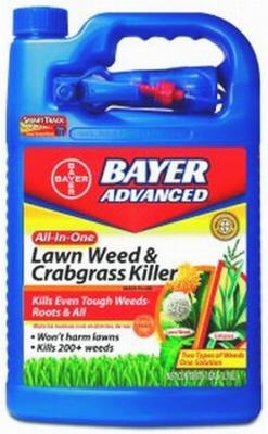 Advanced Lawn Weed & Crabgrass Killer, 1-Gal.