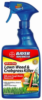 Advanced Lawn Weed & Crabgrass Killer, 24-oz.