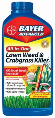Lawn Weed & Crabgrass Killer, 40-oz.