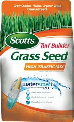 Turf Builder High Traffic Grass Seed Mix, 3-Lbs., Covers 1200 Sq. Ft.