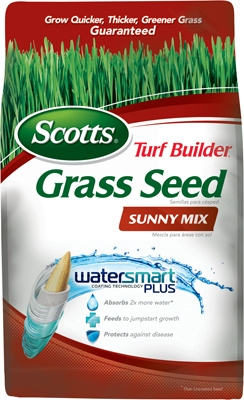 Turf Builder Sunny Grass Seed Mix, 3-Lbs., Covers 1350 Sq. Ft.