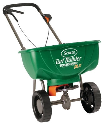 Turf Builder Edgeguard Deluxe Broadcast Spreader