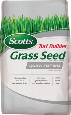 Turf Builder Quick Fix Grass Seed Mix, 3-Lbs.