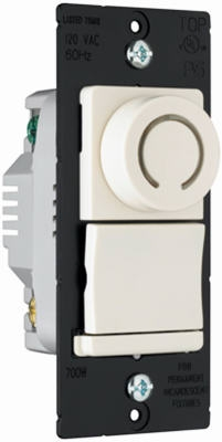 3-Way Rotary Dimmer with Pilot Light