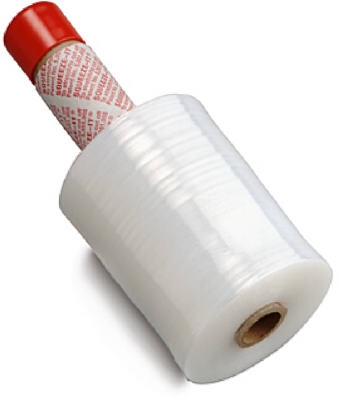 Packing Stretch Film With Built-In Dispenser, 5-In. x 1000-Ft. Roll